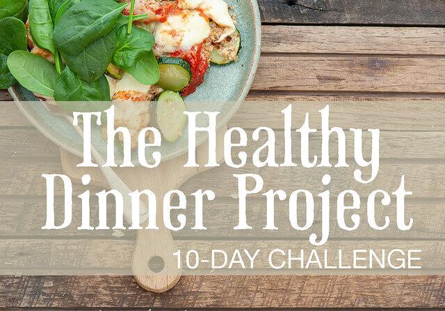healthy dinner challenge