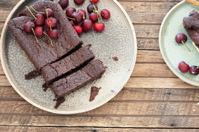 Heavenly Chocolate Olive Oil Cake