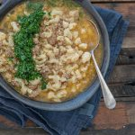 Chunky Cauli & Sausage Soup