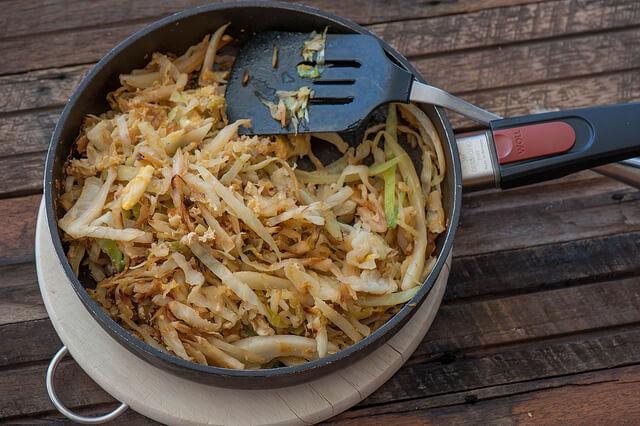 Darya's Egg Fried Cabbage Recipe