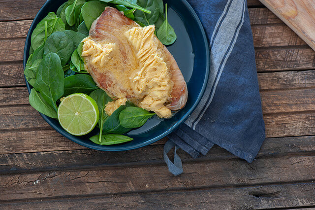Fish with Lime & Miso Butter