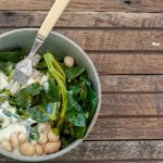 Green Bowls with Macadamia Cream