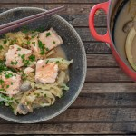 One Pot Miso Salmon