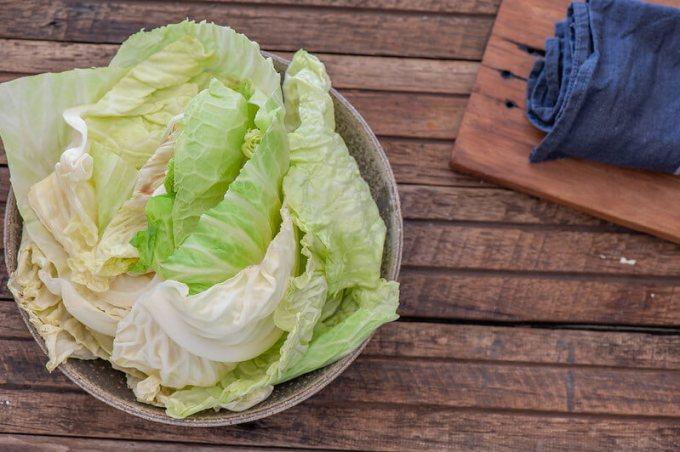 Salted Cabbage Tortillas