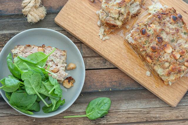 Sausage & Macadamia Stuffing Loaf Recipe