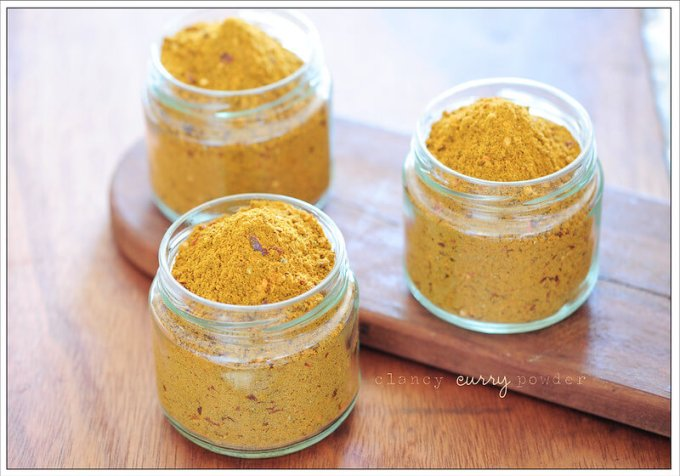 curry powder substitutes
