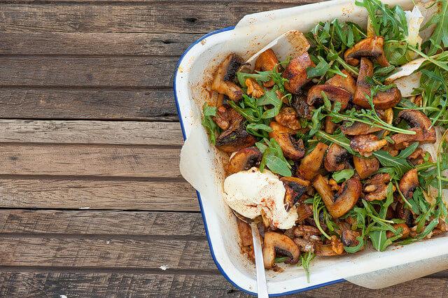 smoky-roast-mushroom-bowls-recipe