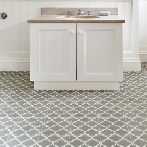 Trellis Encaustic Tiles