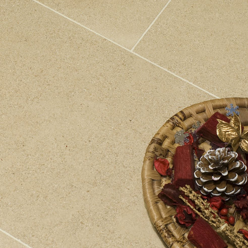French Beaumaniere Brushed Limestone