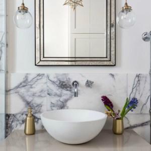 Amethyst Marble Honed Finish bathroom wall tiles