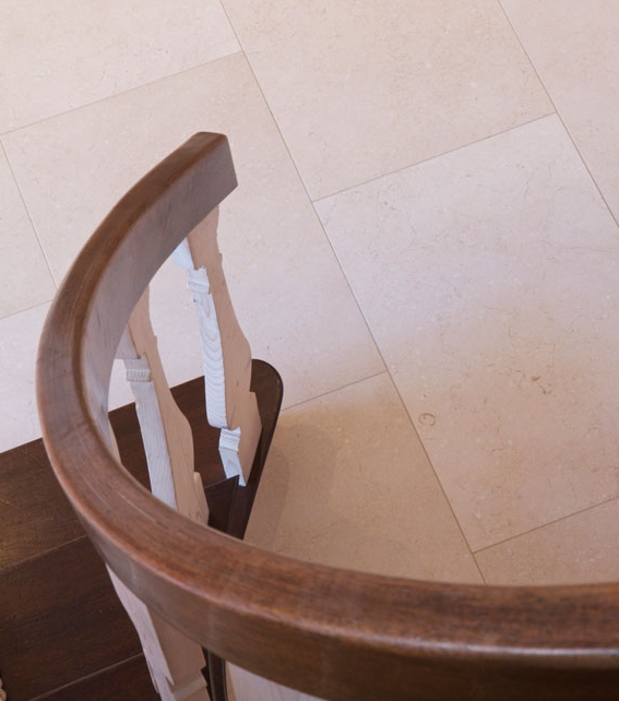 Bergamo Limestone Honed Finish Detailed Closeup