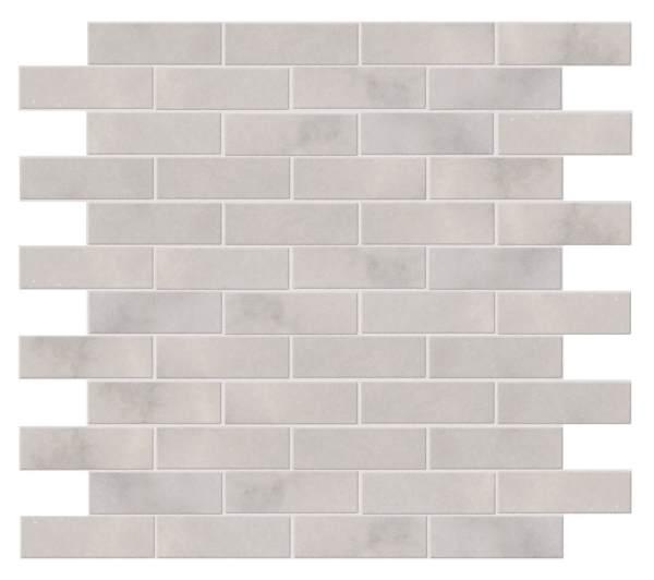 Long Island Marble Slim Brick Mosaic Close Up