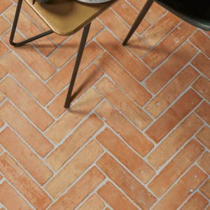 Marlborough Terracotta Parquet on a conservatory floor