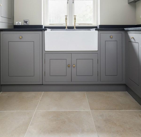 Neranjo Limestone Velvet Finish throughout the kitchen