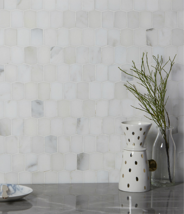 Palazzo Marble Picket Mosaic Wall Tiles