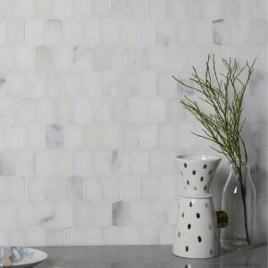 Palazzo Marble Picket Mosaic Wall Tiles