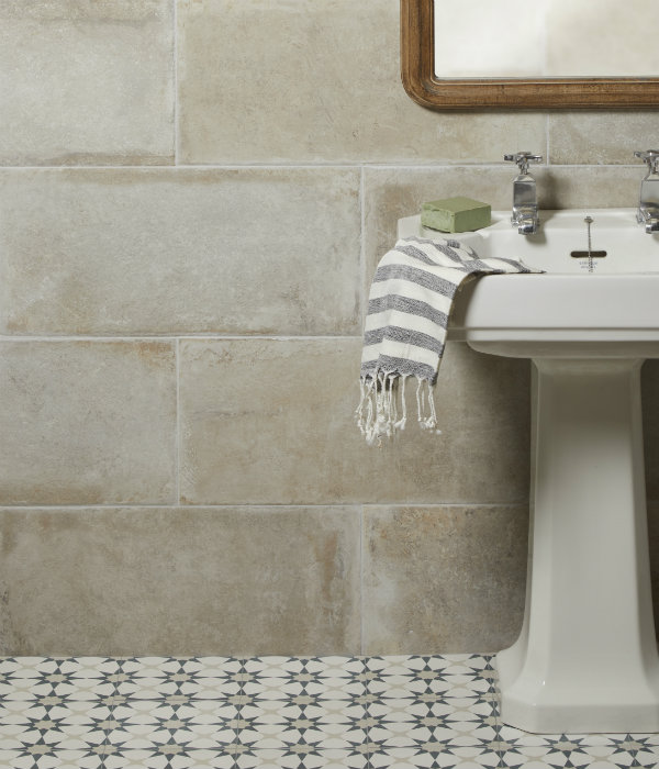 Provence Porcelain Talco Bathroom wall tiling