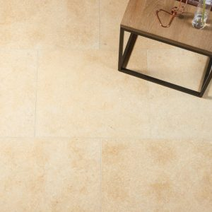 Shaker Alea Limestone Tumbled Finish Tiles