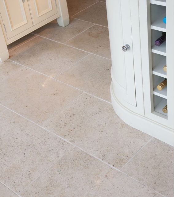Zenna Limestone Honed Finish close up