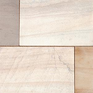 Cedar natural sandstone patio slabs