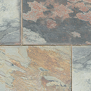 natural rustic Copper slate paving tiles
