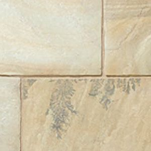 Mint Fossil Indian natural sandstone patio slabs