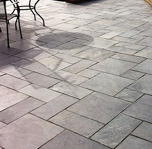 natural Black slate paving tiles