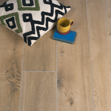 light brown wood effect porcelain wall and floor tiles