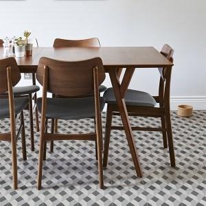 patterned matt porcelain floor and wall tiles