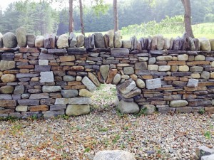 Master dry stone wall Feature: Dry Stone Arch