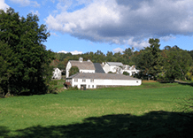 The Scott Farm viewed from road