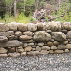 Galloway Dry Stone Wall built by Jared Flynn (photo credit: Jared Flynn Stonework)