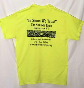 dry stone walling t-shirt at The Stone Trust