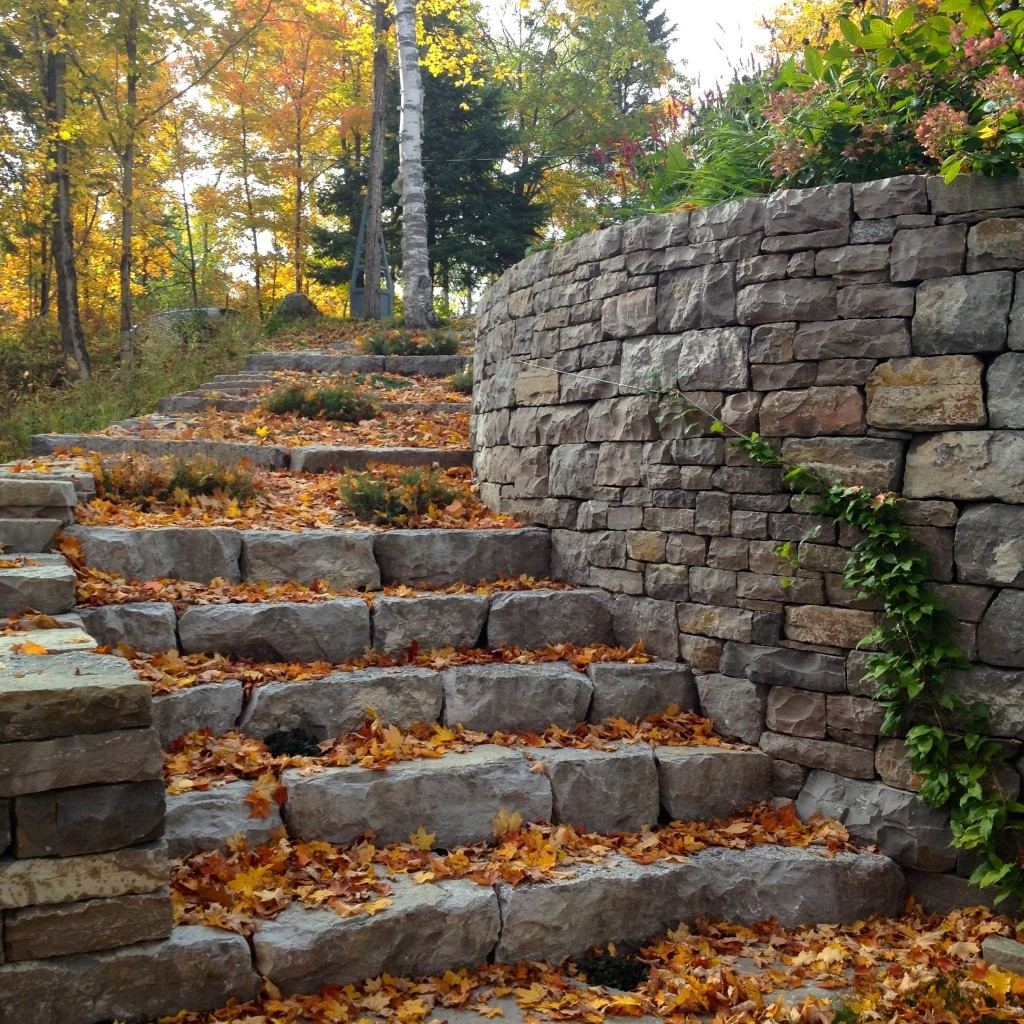 Dry Stone Steps Stairs Workshop 1 Day Outdoor – April | Granite Stone Steps Outdoor