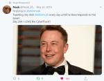 Noah Tweet to Elon