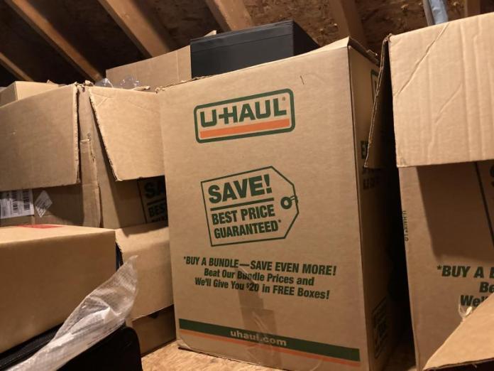 U-haul Box