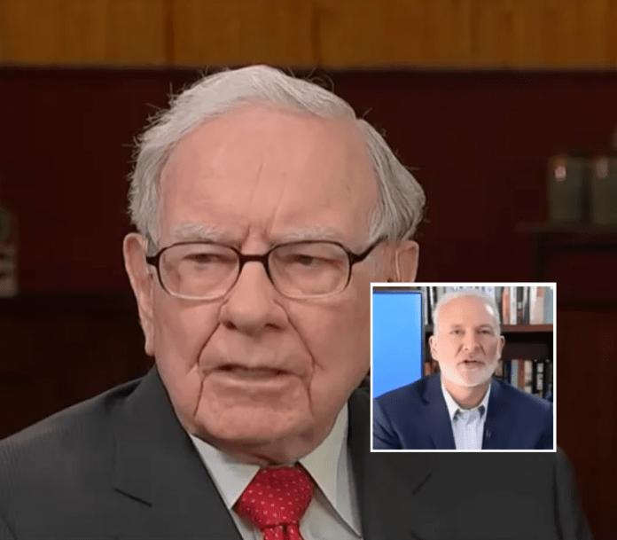 Peter Schiff Warren Buffett