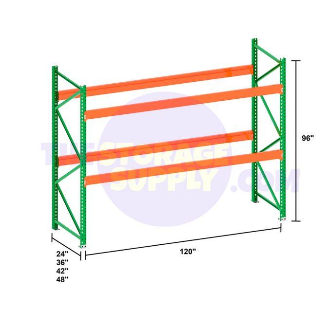 the storage supply pallet rack