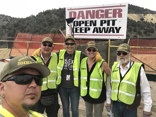 Storey County C.E.R.T volunteers