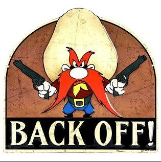 Back it up or back it off