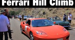 Ferrari Hill Climb
