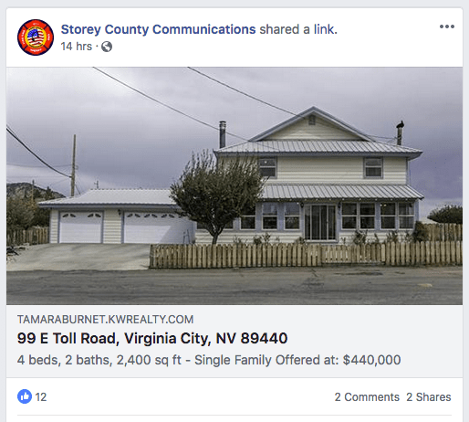 Storey County Communication