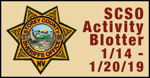 SCSO Incident Report January 14-20