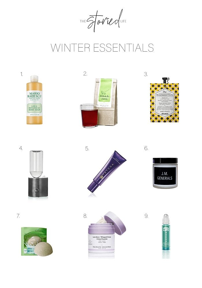 Winter Skin Essentials
