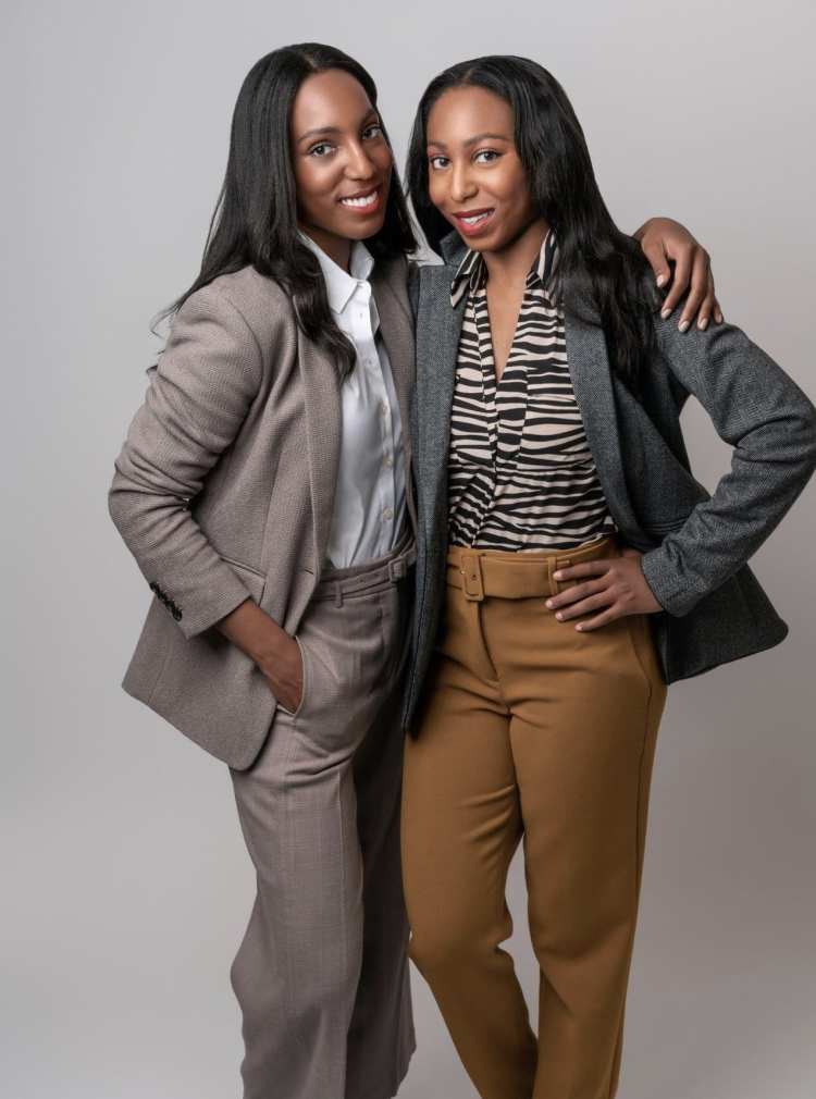 Jilene and Lana Jackson Co-Founders of The Storied Life Ann Taylor x The Storied Life We Are Better Together Campaign