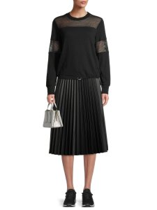 Product image of Walmart Time and Tru Faux Leather Skirt
