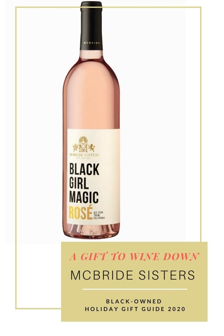 Holiday 2020 product image of Black Girl Magic Rosé wine by the McBride Sisters