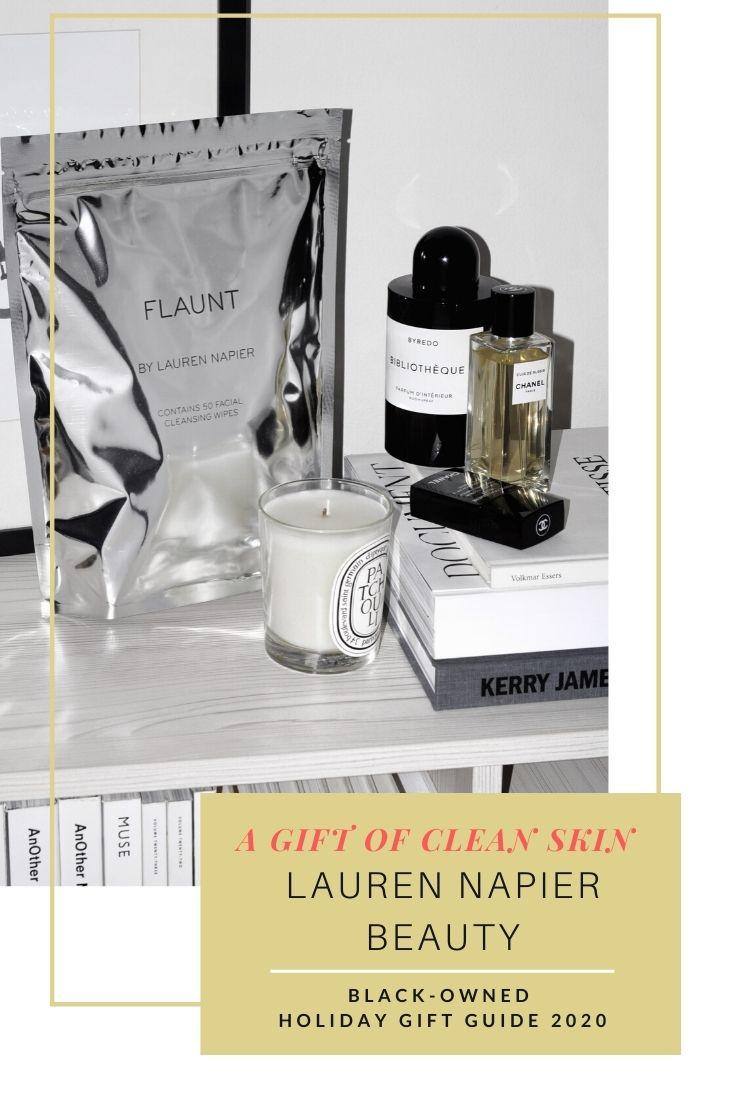 Holiday 2020 product image of Lauren Napier Beauty facial wipes