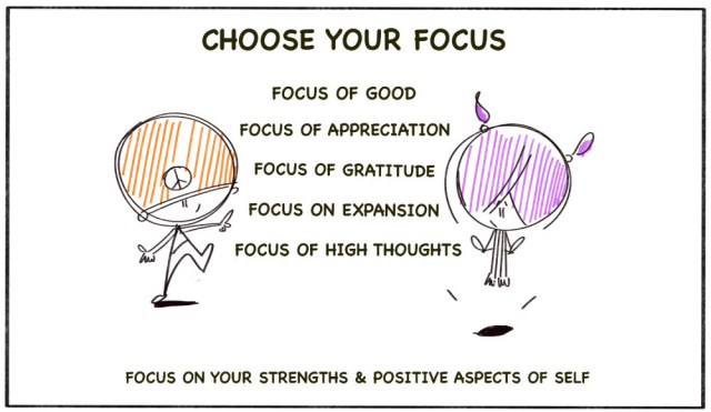 Focus on the flow of life good