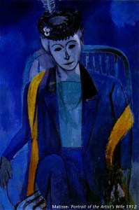 Portrait of the Artist's Wife, 1912